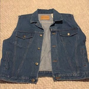 Arizona Men's Denim Vest XL